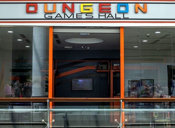 Dungeon Games Hall - Hero Image 4